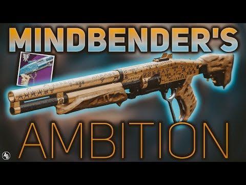 Mindbender's Ambition Review (God Roll Guide) | Destiny 2 Forsaken