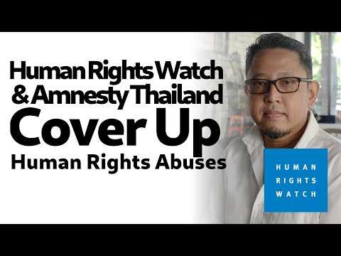 Human Rights Watch, Amnesty Cover Up Human Rights Abuses