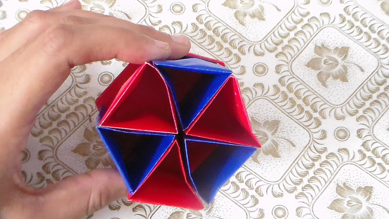 how to make paper pencil holder papel l piz titular youtube. Black Bedroom Furniture Sets. Home Design Ideas