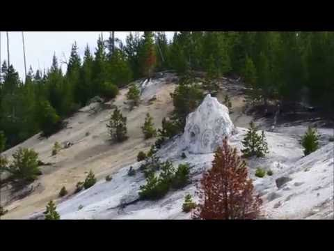A tour of Yellowstone National Park's  Monument Geyser Basin