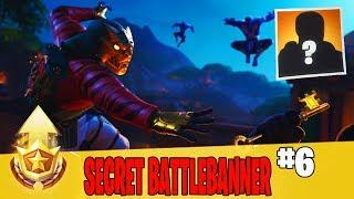 Secret Battle Banner in Week 6 Location Guide in Fortnite // FREE Battle Pass Banner in Season 8
