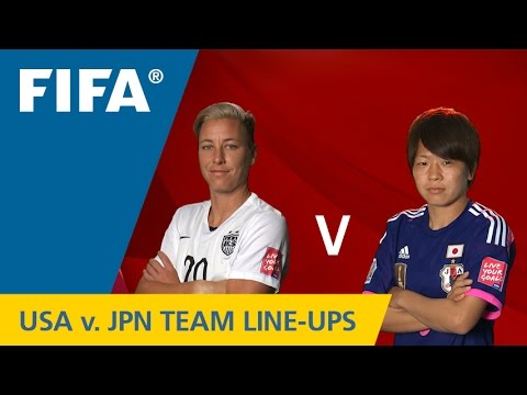 USA v. Japan - Team Lineups EXCLUSIVE