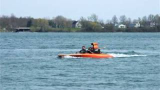 V Drive Hondo Drag Boat 489 Big Block Chevy