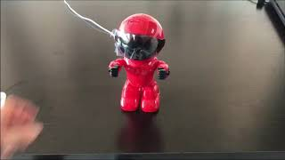 Newest Red Robot Wifi IP Camera how to use