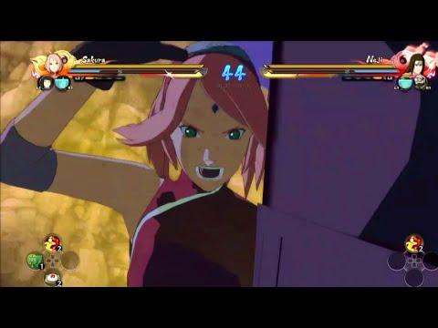 NARUTO SHIPPUDEN Ultimate Ninja STORM 4 - Sakura The Last Gameplay (60FPS) |