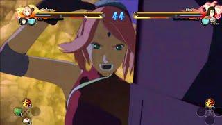 NARUTO SHIPPUDEN Ultimate Ninja STORM 4 - Sakura The Last Gameplay (60FPS)