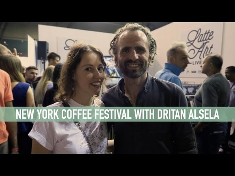 NYC TRAVELVLOG #1 NY COFFEE FESTIVAL WITH DRITAN - The Exploring Barista