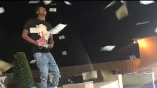 Nba Youngboy (Behind the scene) - blue hunnid [throws money in the air🔥🔥]