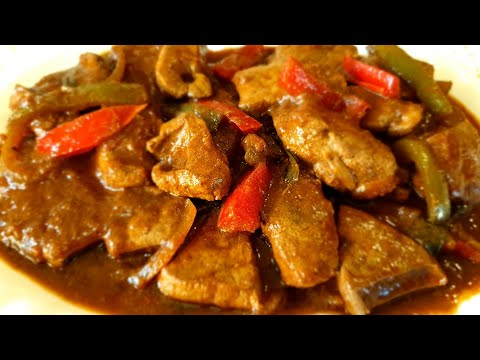 How to cook beef liver stew||Beef liver recipe||Beef liver stew - South African recipe
