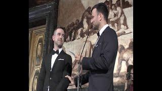 החתונה של אסי עזר בברצלונה - היום בדיוק שנה הזדמנות להיזכר