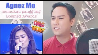 Agnez Mo memukau panggung Sosmed Awards I Socmed Awards 2016 | REACTION