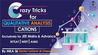 Tricks for Qualitative Analysis | Cations | Jee Mains, Advance, NEET, BITSAT and AIIMS thumbnail