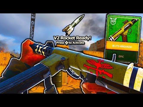 EPIC STERLING DLC GUN is GOD-LIKE on COD WW2! - V2 ROCKET w/ BEST STERLING CLASS in COD WW2!