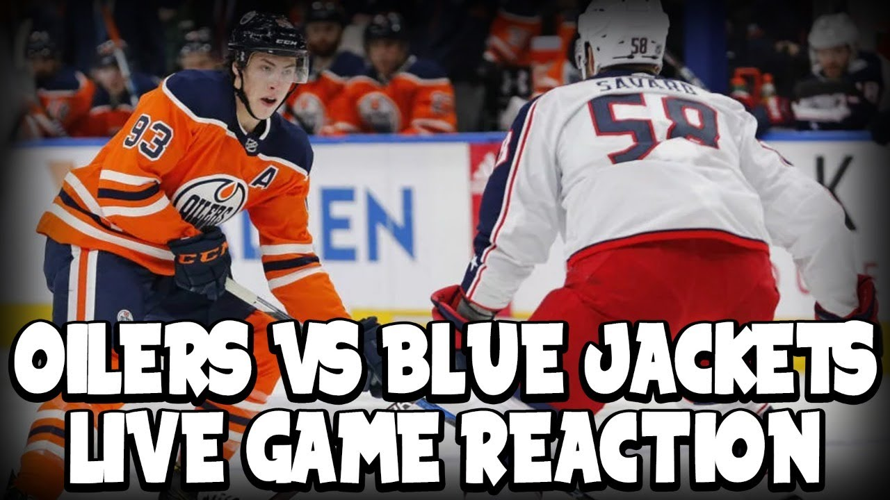 Edmonton Oilers Vs Columbus Blue Jackets Fan Game Reaction On Dolynny Tv Youtube