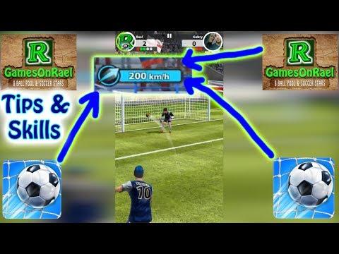 Football Strike Mini Tips & Skills 1V1 On Free Kicks 20K  ✅🔥 Top Speed 200KPH Kicks Off