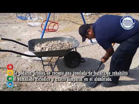 """""""Parque Seguro"""" beneficia a más de 2 mil familias de la colonia Atenas: SSyPC"""