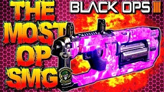 CALL OF DUTY: BLACK OPS 3 - HLX4 BEST CLASS SETUP! HLX-4 MOST OVERPOWERED SMG IN COD BO3!