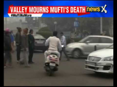 Leaders pay tribute to Jammu and Kashmir CM Mufti Mohammad Sayeed