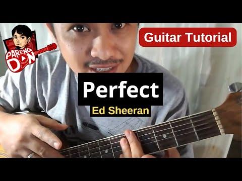 Guitar tutorial of PERFECT (Ed Sheeran ) Chords Strumming Lesson Tagalog