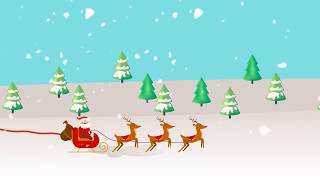 Merry Christmas and new year Wishes Whatsapp Greetings Animation Message Ecard Xmas