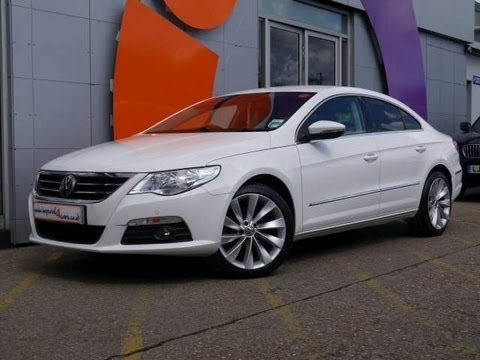 2010 volkswagen passat cc gt 2 0tdi 170 dsg white for sale in hampshire youtube. Black Bedroom Furniture Sets. Home Design Ideas