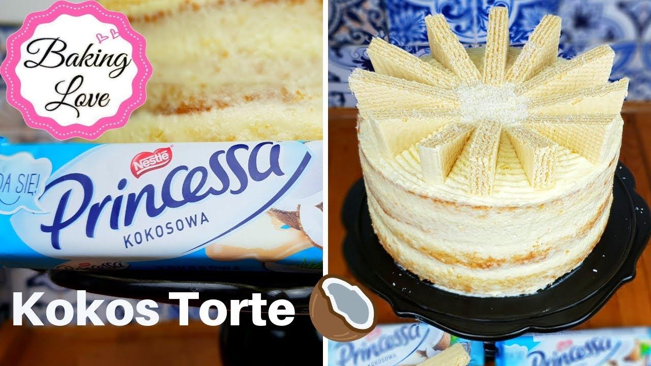 Ein wahr gewordener Kokos-Traum Princessa Kokos Torte Raffaello Torte