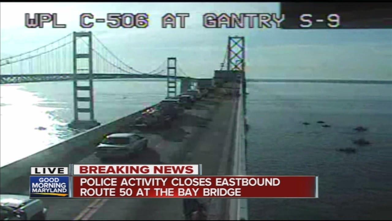 Police activity closes eastbound lanes of Bay Bridge