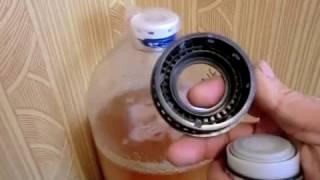 Варка пивного сусла затёртого с помощью мешалки, брожение под давлением