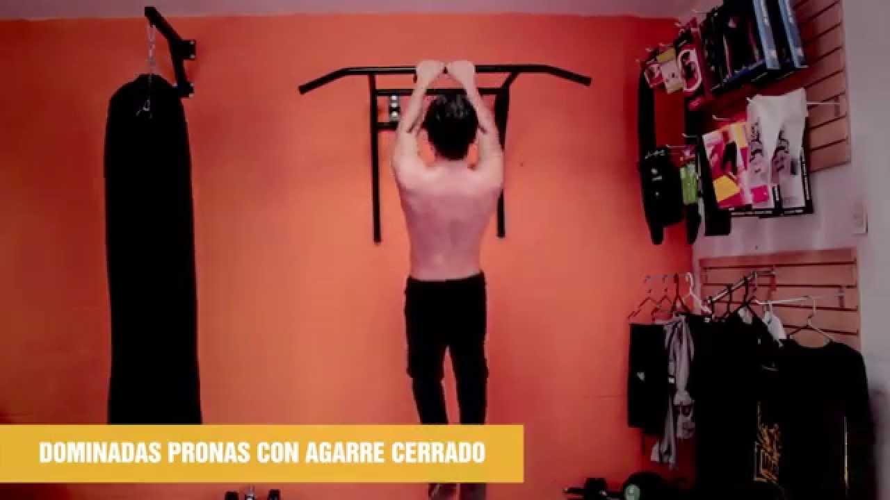 Tutorial 3 rutina para brazos en barras principiantes youtube - Barras de ejercicio para casa ...