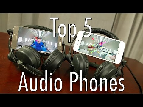 Top 5 Audio Smartphones (of the first half) of 2016!
