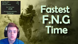 Call of Duty 4 Remastered - Fastest F.N.G Run