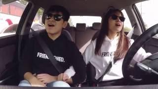 #CARaokeChallenge by Kristel Fulgar and CJ Navato