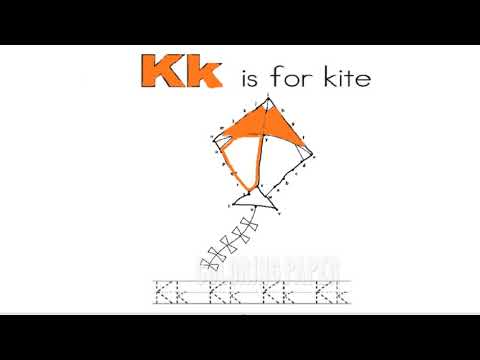 Connect The Dots   Puzzle Game Dot To Dot   Fun Activities For Kids   Kk is For Kite