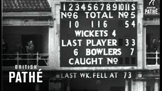 Test Match Result (1953)