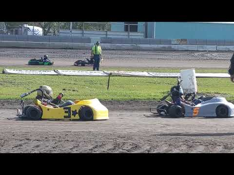 Aug 17 Junior 1 Heat (1) - Arlington Raceway