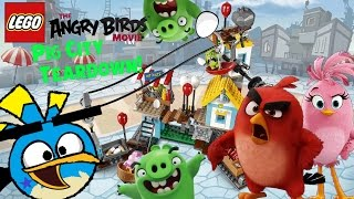 Lego Angry Birds Movie Pig City Teardown Review
