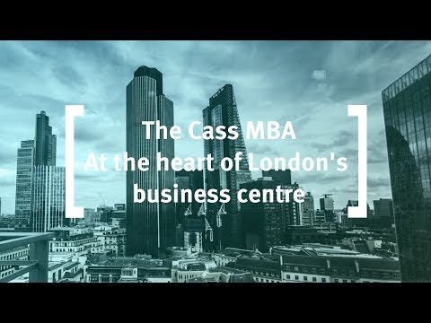 The Cass MBA: At the heart of London's business centre