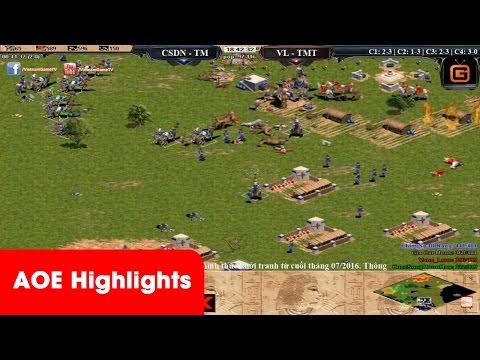 AOE HighLights - Kinh khủng tởm trận cầm Egyp cân 2 của Chim Sẻ Đi Nắng