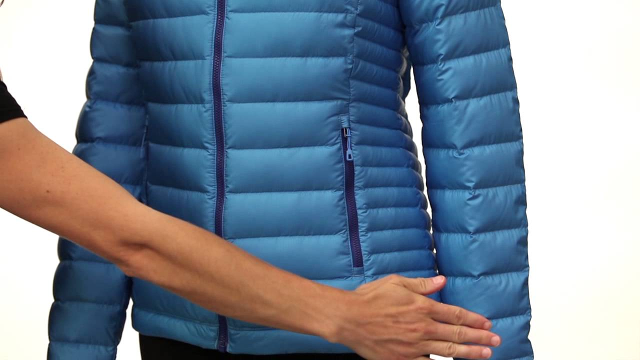 Veste doudoune PATAGONIA W's Down Sweater Hoody Lapiz Blue