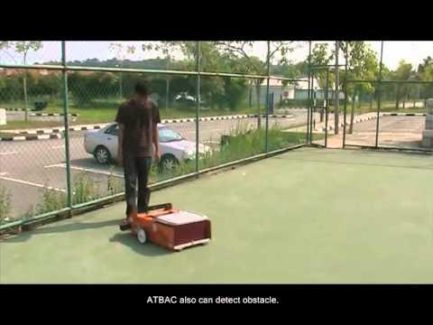 autonomous tennis ball picker