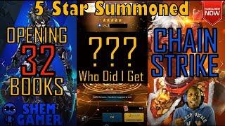 5 Star Summon (32 Books) - Chain Strike