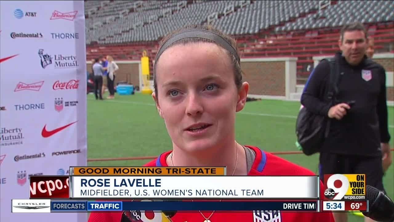 1439d12fa95 For Rose Lavelle, this week's U.S. Women's National Team friendly has been  a long time coming