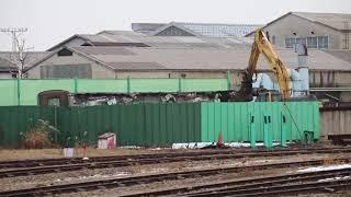 E217系クラY-44編成モハE217-44_モハE216-1044が解体開始 長野総合車両センター