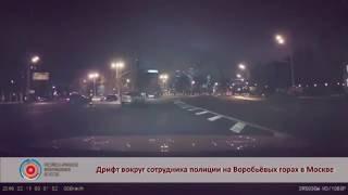 Армянский дрифтер ищет славы, нарушая ПДД в Москве