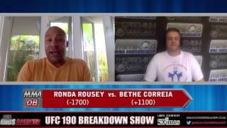UFC 190 Breakdown Show w/ Frank Trigg and Nick Kalikas