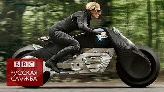 Без шлема, но в очках: BMW показала мотоцикл будущего