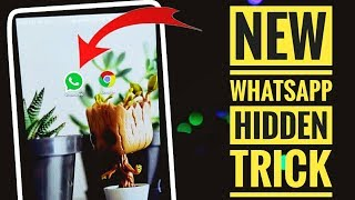 New Whatsapp Chrome Trick you Surely don't know 😱🔥 | New whatsapp tricks 2018 | Chrome Tricks