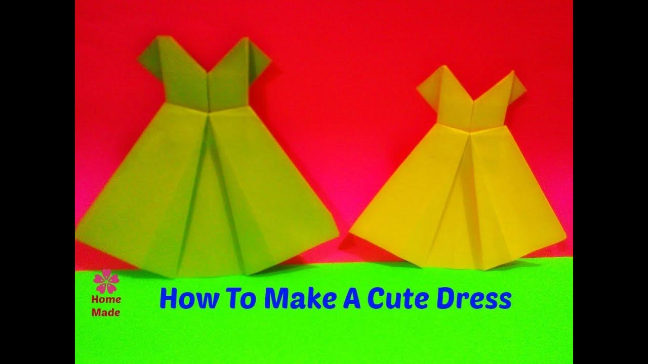 8d8c667e4d15 How To Make A Cute Dress - Easy Tutorial - YouTube