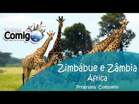 ZIMBÁBUE - ZÂMBIA - BOTSUANA | PROGRAMA VIAJE COMIGO
