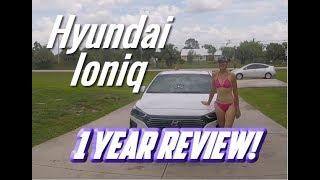 Hyundai Ioniq 1 year review by Ioniqwoman17 aka Fitfarmchick